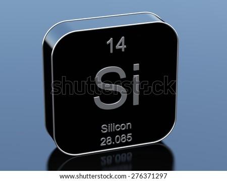 Silicon - stock photo