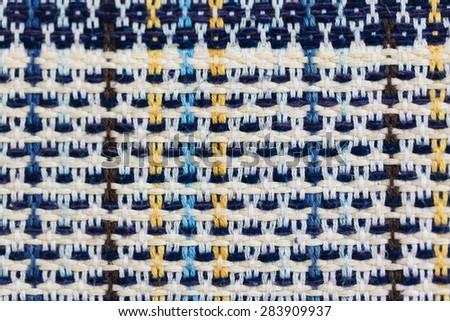 Silk fabric texture background. - stock photo