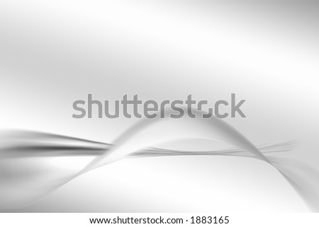 silver abstract - stock photo