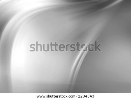 silver abstract composition - stock photo