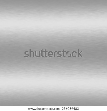 silver background metal texture - stock photo