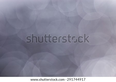 silver background with bokeh - stock photo