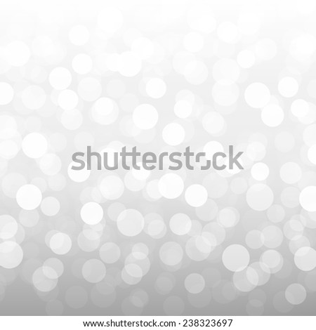 Silver Bokeh Wallpaper  - stock photo