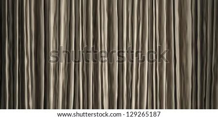 Silver cloth texture - stock photo
