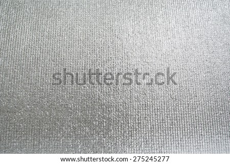 silver foil insulation - stock photo