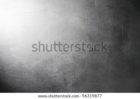 Silver gray grunge texture. Dramatic light background - stock photo