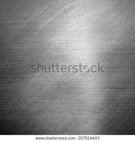 Silver metal texture - stock photo