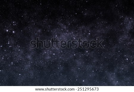 Silver Sky - Elements of this Image Furnished by NASA - stock photo