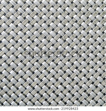 Silver weaving art abstracts background. - stock photo