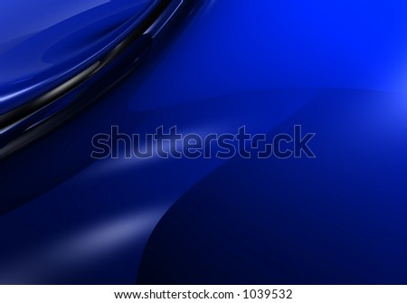 silver wire in blue light 01 - stock photo