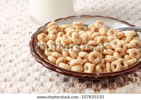 Simple cereal - stock photo