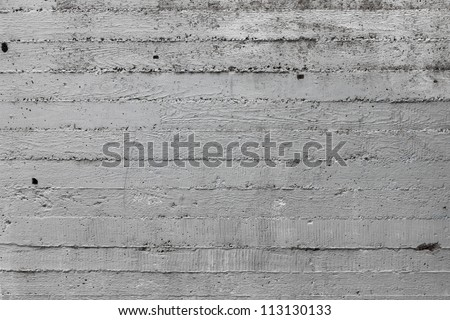 Simple gray concrete wall background - stock photo