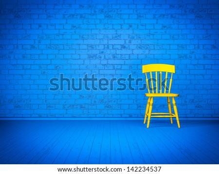 Simple interior design - stock photo