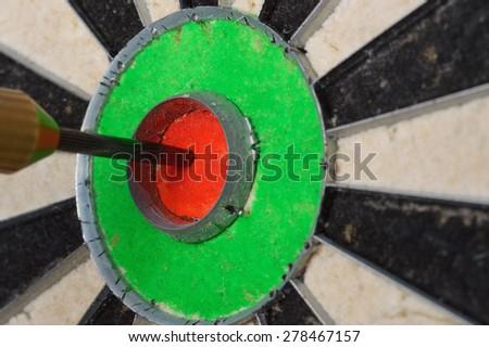 single bulls eye - stock photo