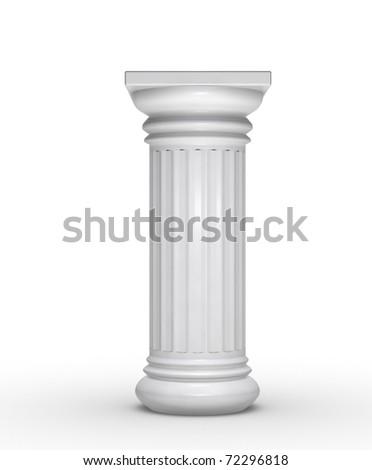 Single column - stock photo