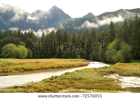 Sitka Back-country - stock photo