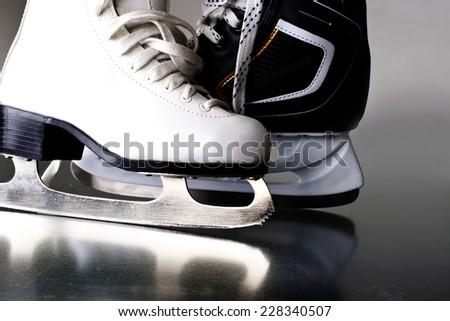 Skates. - stock photo