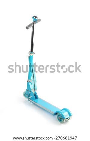 Skating Scooter - stock photo