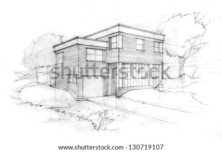 Home Sketch Stock Photos, Images, & Pictures | Shutterstock