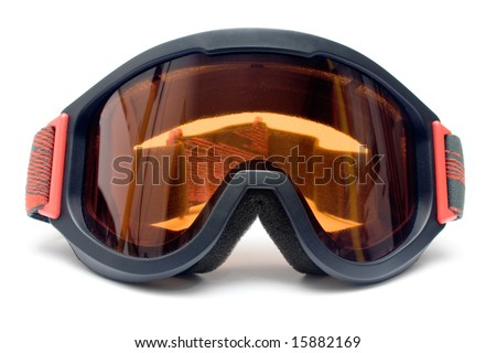Ski Goggles (Front View) - stock photo