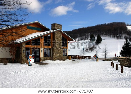 Ski Resort - stock photo