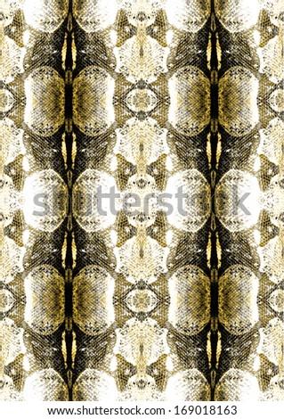 Skin skin pattern - stock photo