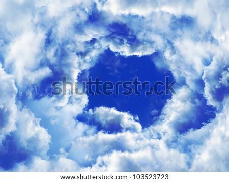Sky. - stock photo
