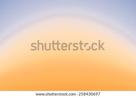 Sky at sunset illustration abstract gradient background. - stock photo