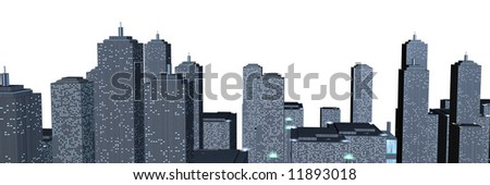 Skyline - stock photo