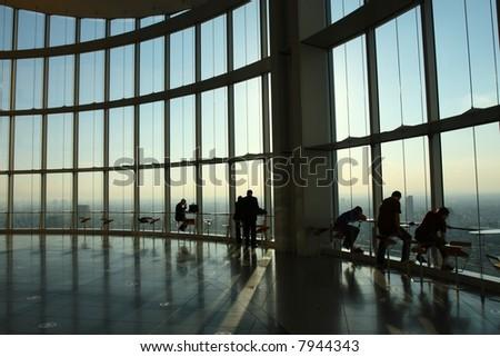 Skyscraper view - stock photo