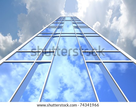Skyscrapers. - stock photo