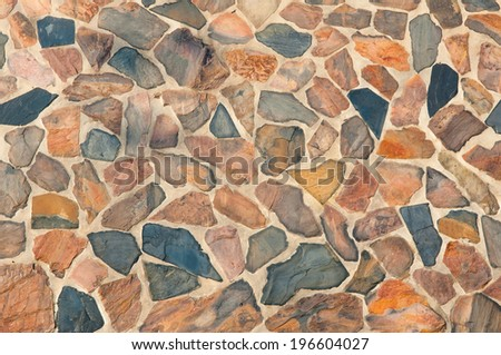 Slate background - stock photo