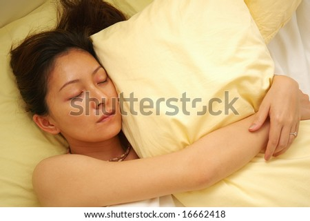 Sleeping - stock photo