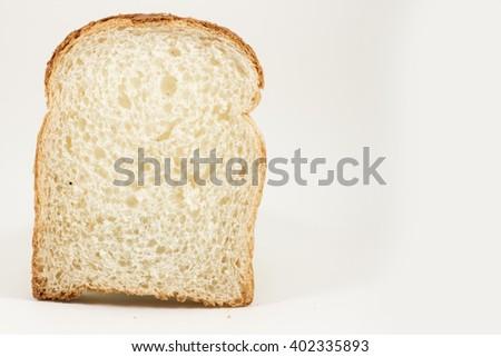 slice of bread - stock photo