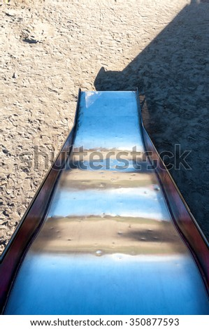 Slide - stock photo