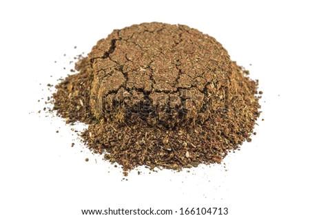 Slide spices - stock photo