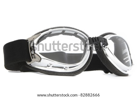 sliver protect eye goggles - stock photo