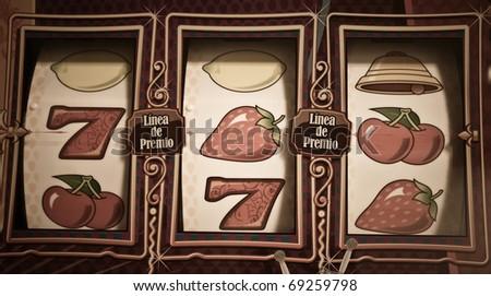 slot machine - stock photo