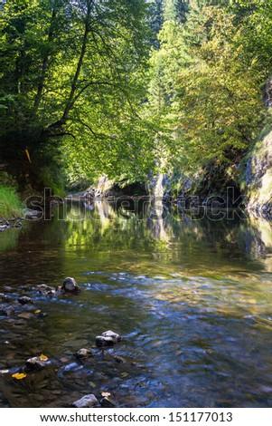 Slovak Paradise, Slovensky Raj National Park, Slovakia  - stock photo