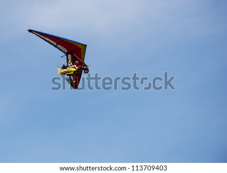 Small aeroplane - stock photo