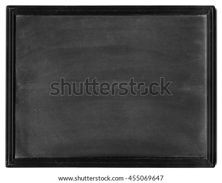 Small Black Slate - stock photo