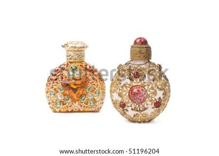 small bottle - stock photo