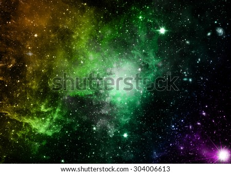 """Small part of an infinite star field of space in the Universe. """"Elements of this image furnished by NASA"""". - stock photo"""