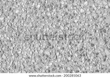 small stones flooring - stock photo