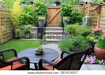 Apartment patio seating : Small Stock Photos, Images, & Pictures Shutterstock