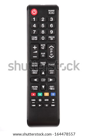 Smart TV remote control - stock photo