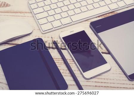 Smartphone mockup - stock photo