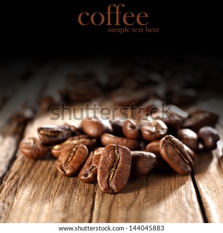 smell of coffee - stock photo