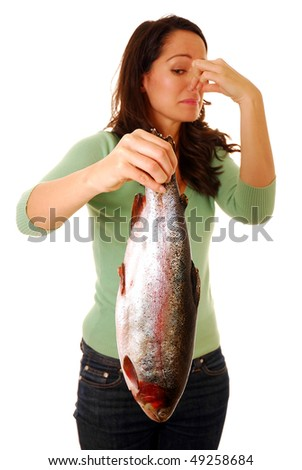 Smelly fish - stock photo