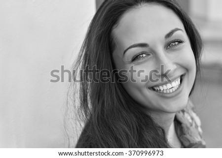 Smile girl - stock photo